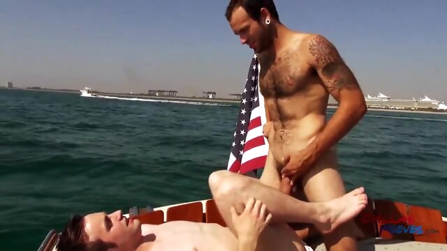 Maxx Fitch Barebacking Andrew Collins In A Boat Trip bareback beeg videos
