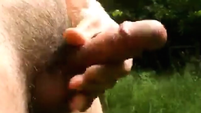 Naked cock play and cum in the sunny woods amateur beeg videos