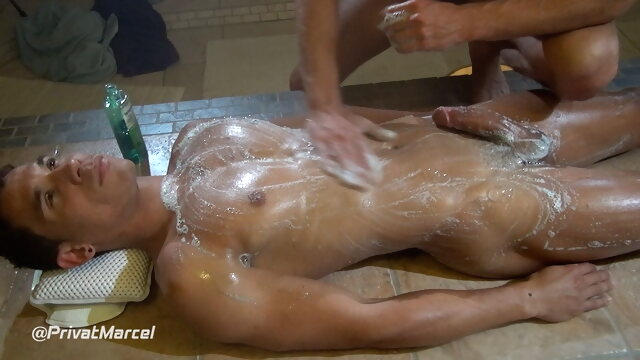 Basti and Leo shower, massage and more... blowjob beeg videos