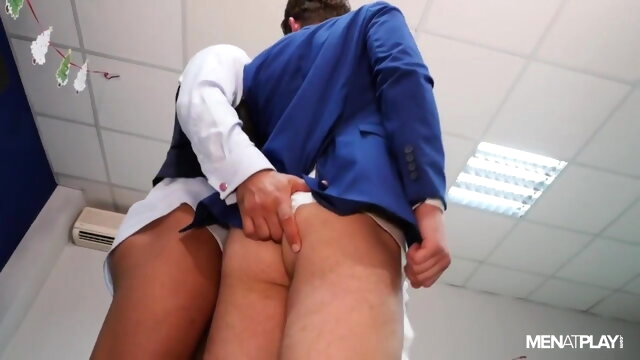MAP - X-Mas Eve Boardroom Play bareback beeg videos