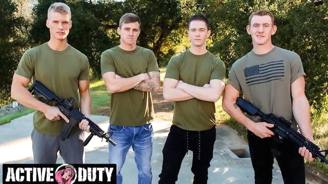Savage Military Foursome Bareback Fuck Each Other amateur beeg videos